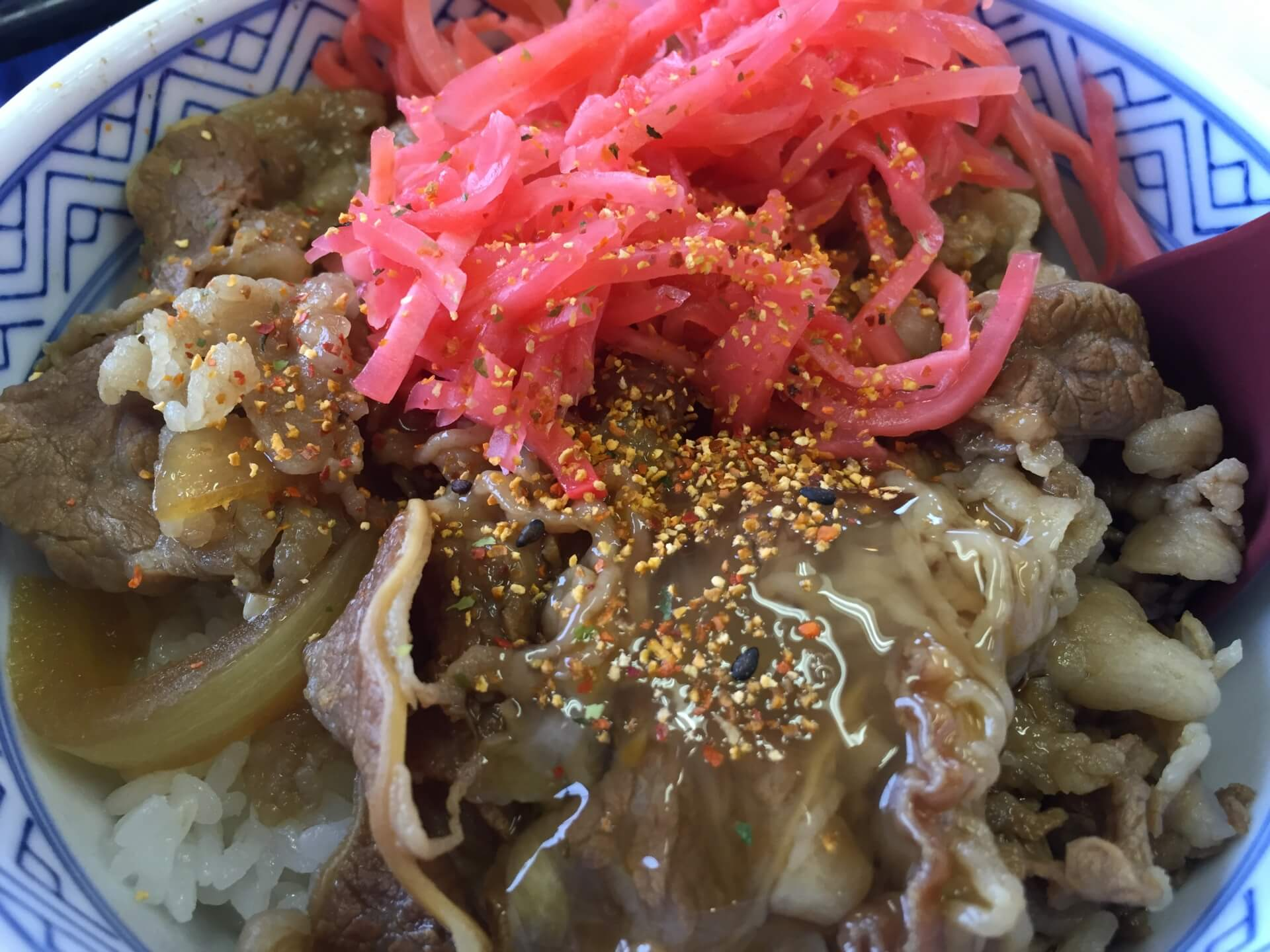 1月24日は牛肉の日:吉野家で並盛を注文するとアタマが120%に増量です!