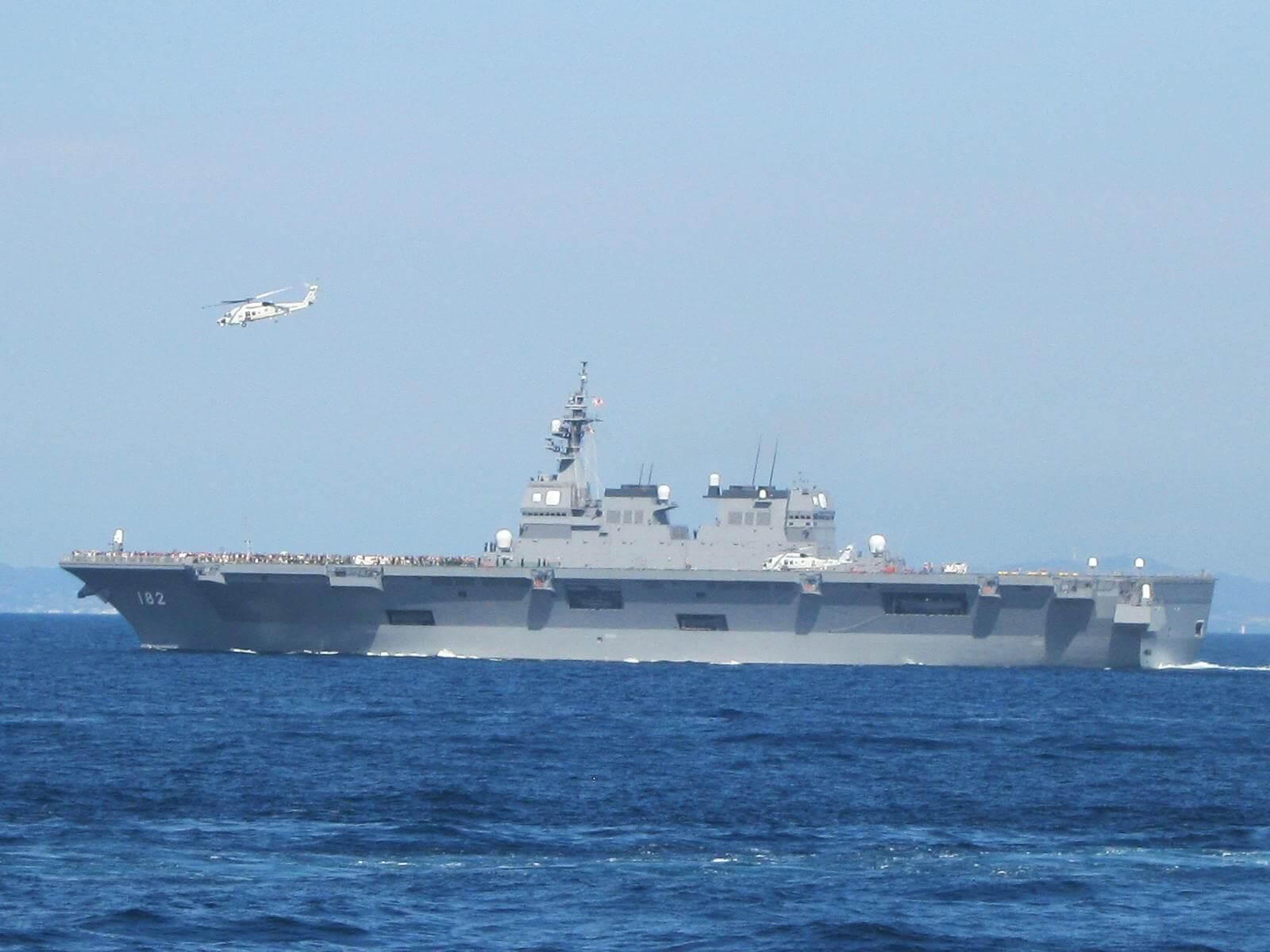 今年10月に開かれる海自観艦式に韓国招待されず...