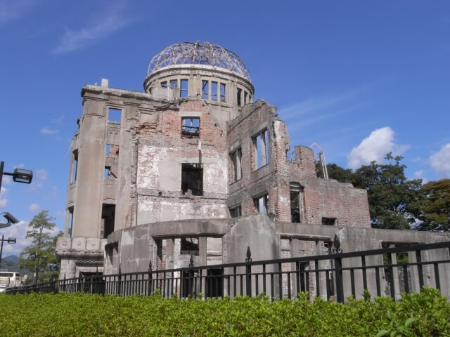 【原爆ドーム】人類史上初の原爆投下の象徴です!