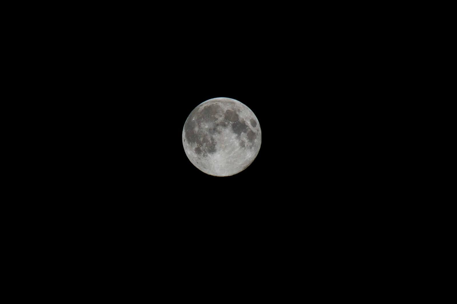 【令和元年最後の満月】2019年今年最後の満月コールドムーンを見て!